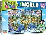 MasterPieces Kids Eye View The World - 100 Piece Kids Puzzle