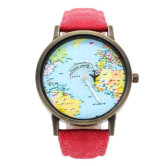 6c0e122b6a63 BLACK MAMUT Reloj Análogo Diseño Travel