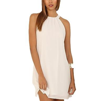 Summer Dress Plus Size Casual Women Clothing Chic Elegant White