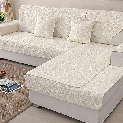 Zzy - Funda para sofá de algodón seccional para Todas Las ...