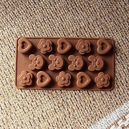 XTXWEN® Molde de Silicona para Chocolate de Navidad, para Mascotas, Animales, Amor