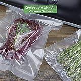 Vacuum Sealer Bags Rolls (4-Pack), WISH 11 Inch X