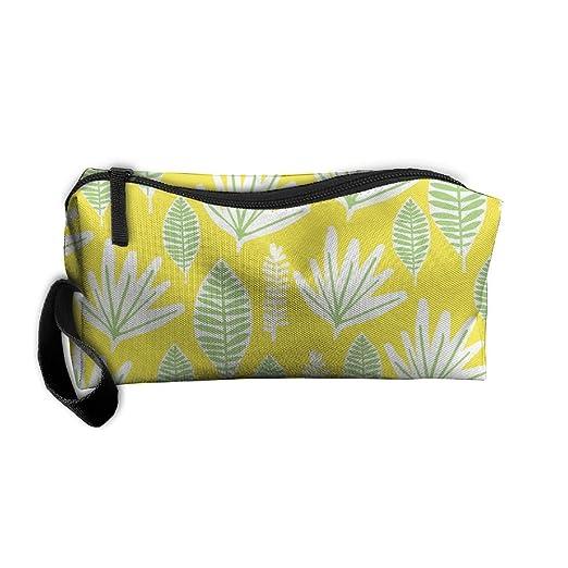 a7e28e1e27b2 Amazon.com: Tropical Palm Makeup Bag Zipper Organizer Case Bag ...