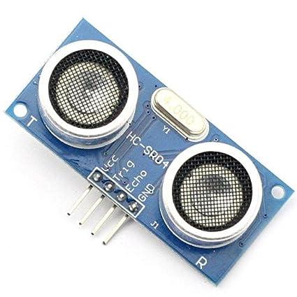 4-pin ultrasónico módulo HC-SR04 de medición de distancia corriente Sensor para Arduino