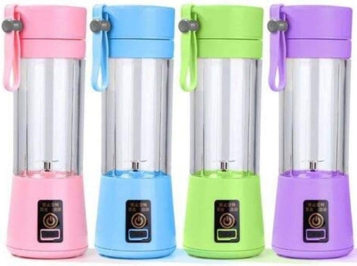 Mini Liquidificador portátil Shake 2x1 - carregador portátil - Juice Cup