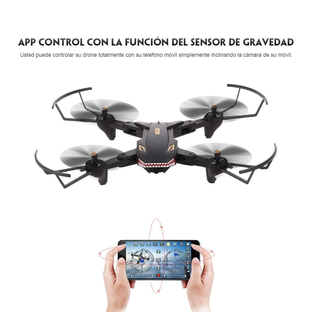 Oferta dron TIANQU VISUO XS809S por 57 euros desde España (Cupón Descuento) 1 TIANQU XS809W