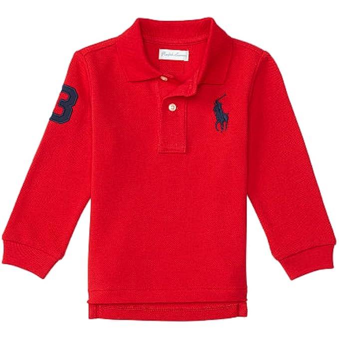 Ralph Lauren - Polo - para bebé niño Rojo 62 cm: Amazon.es: Ropa y accesorios