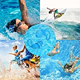 Silicone Swimmer Ear Plugs 2 Pairs Comfortable