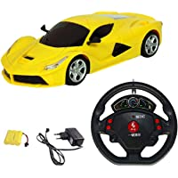 Amitasha Steering Remote Control Car for Boys