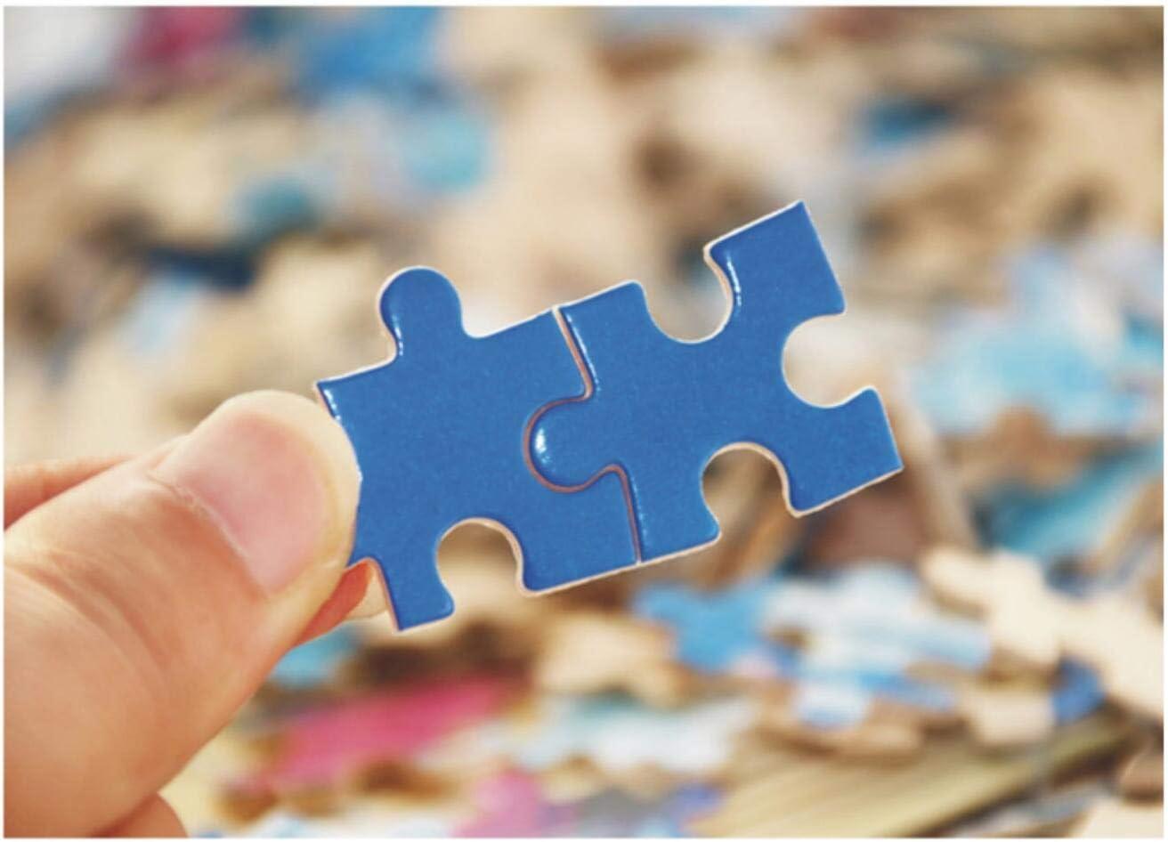 TWYYDP Puzzle in Legno per Adulti 1000 Pezzi Spiaggia sotto Le Nuvole Scuredipinto di Decorazioni per La Casa Poster