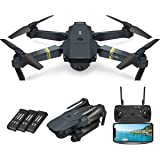 Quadcopter Drone with Camera Live Video, EACHINE E58 WiFi FPV Quadcopter with 120° FOV 720P HD Camera Foldable Drone RTF…