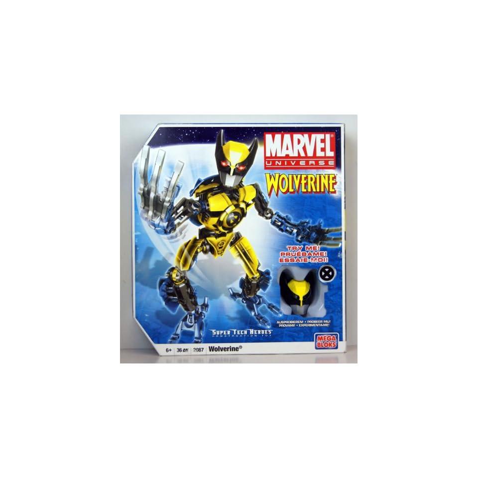 Mega Bloks Spider Man Buildable Techbot Figure   Marvel Universe Super Tech Heroes