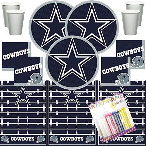 Amazon.com: Dallas Cowboys NFL - Juego de servilletas y ...