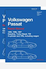 Volkswagen Passat: Repair Manual (2 Volume Set) 1995, 1996, 1997: Gasoline, Turbo Diesel, Tdi 4-Cylinder and Vr6, Including Wagon (Volkswagen) Paperback