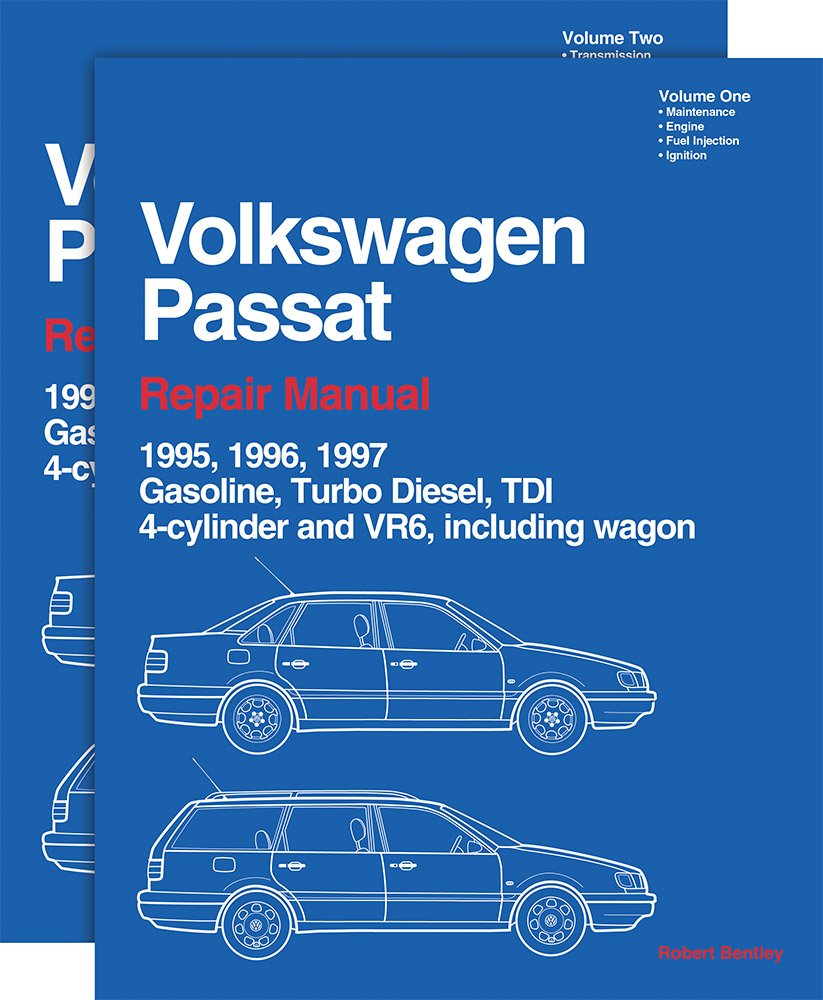 Volkswagen Passat Repair Manual--1995-1997: Including Gasoline, Turbo  Diesel, Tdi 4-Cylinder, Vr6, and Wagon: Volkswagen of America, Bentley:  9780837603803: ...
