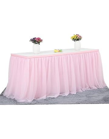 6ft Mantel de mesa para fiestas, banquetes de boda, decoración del hogar, a