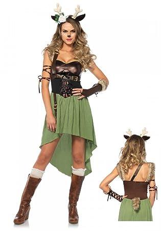 Waldkitz Damen Kostum Von Leg Avenue Rehkitz Kitz Bambi Hirsch