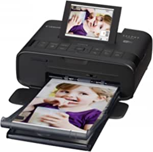 Canon Selphy CP-1300 Compact Photo Printer, Black