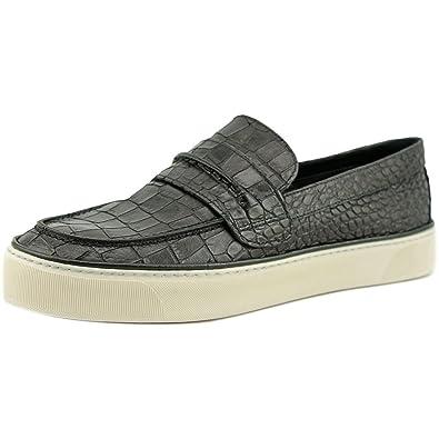 Stuart Weitzman Women's Lounge Slip On Sneakers, Nero, 9.5 B(M) US