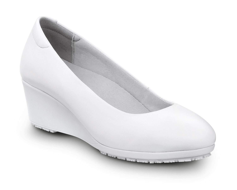 SR MAX Orlando Women's High Heel Slip Resistant (8.0 M, White) by SR MAX