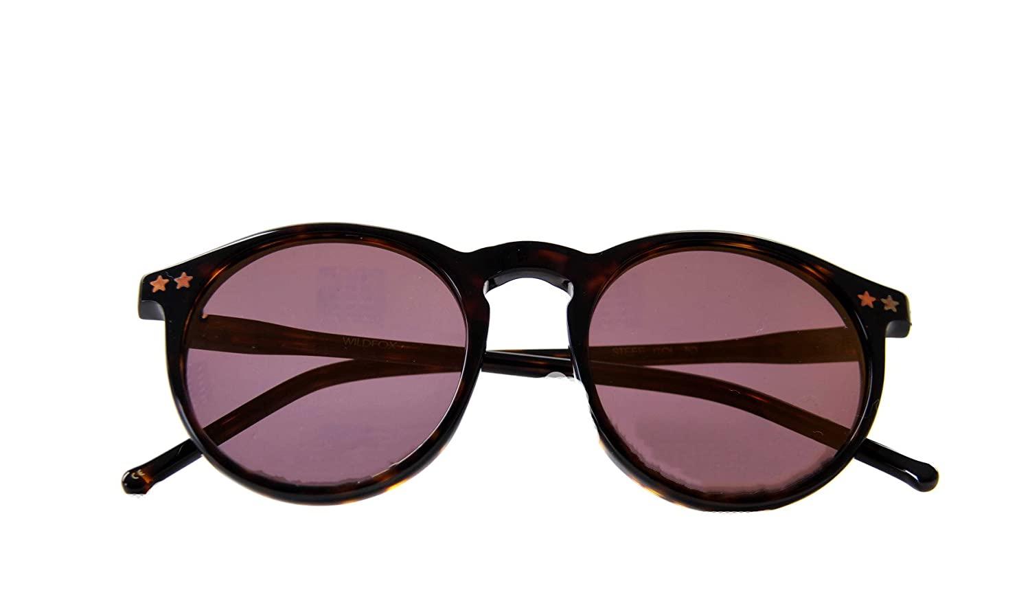 ae14587254 Wildfox Women s STEFF DELUXE Reflective Sunglasses Brown Black   Amazon.co.uk  Clothing