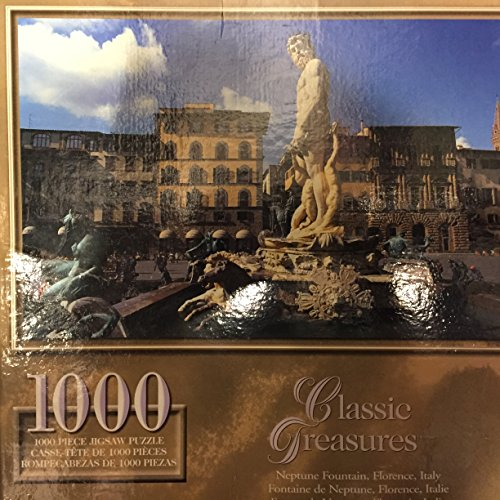 Classic Treasures: Neptune Fountain, Florience, Italy, 1000 - Neptune Classics
