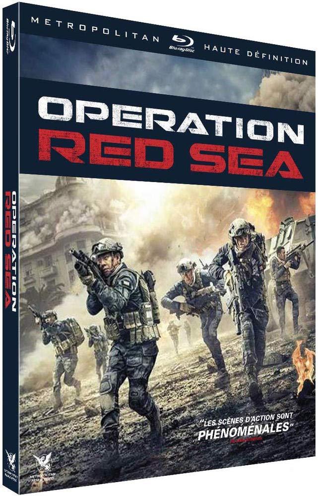 blu-ray du film operation red sea