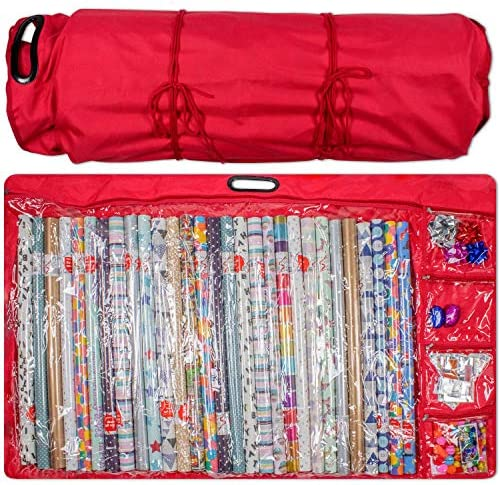 Kraftex Wrapping Paper Storage Container product image