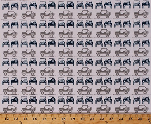 Cotton Jeeps Jeep Land-rover Roadster Buggy Vehicles Automobile Transportation Camping Travel Roadtrip Gray J is for Jeep
