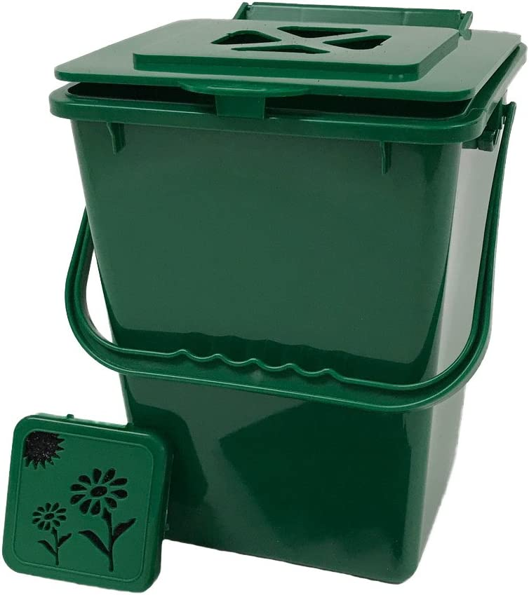 Exaco ECO-2000 2.4 Gallon Kitchen Compost Waste Collector