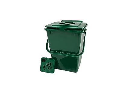 Amazon.com: Exaco Eco Cubeta para compost, Verde: Jardín y ...