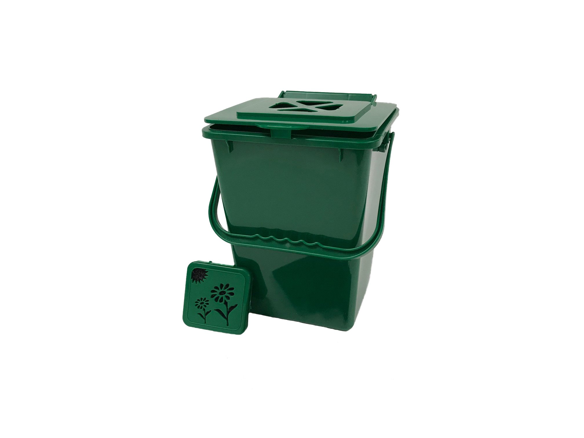 Exaco ECO-2000 2.4 Gallon Kitchen Compost Waste Collector product image