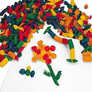 Multi-Colored Macaroni Shapes- Collage Materials For Kids