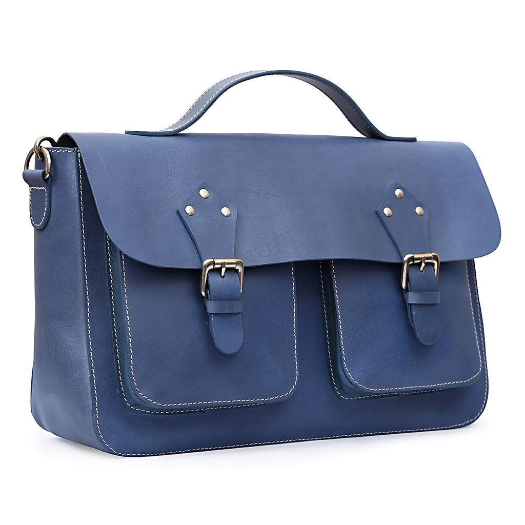 The Wanderer leather bag by Abago