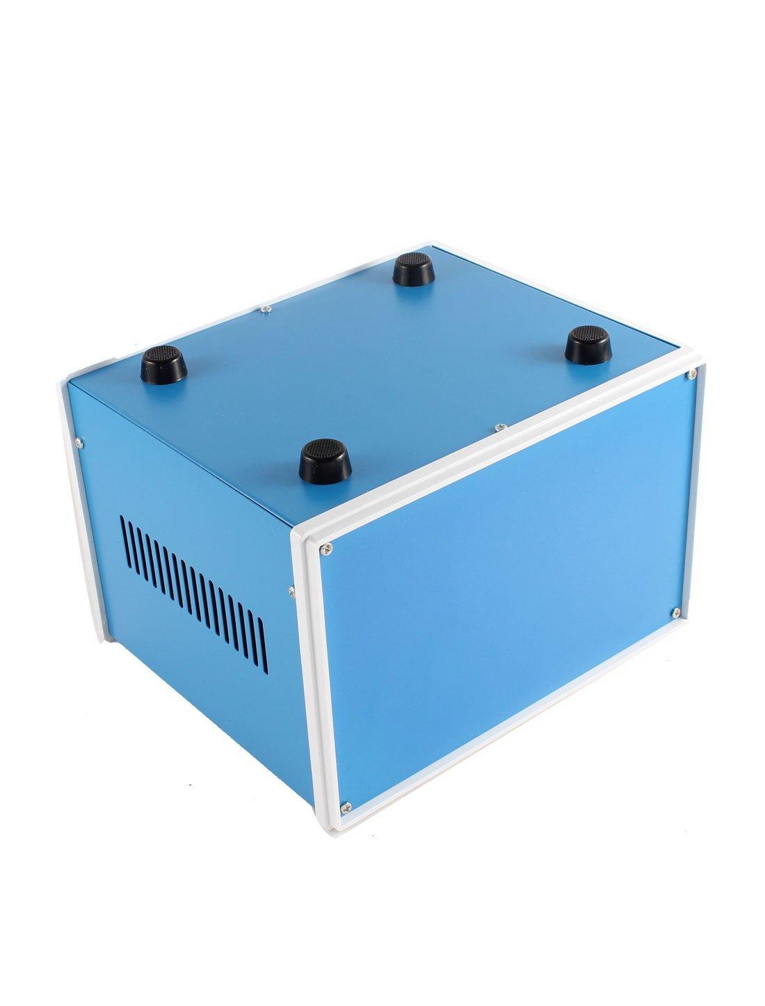 Azul do metal Junção Projeto Gabinete Caso Box 200 x 180 x 135 milímetros - - Amazon.com