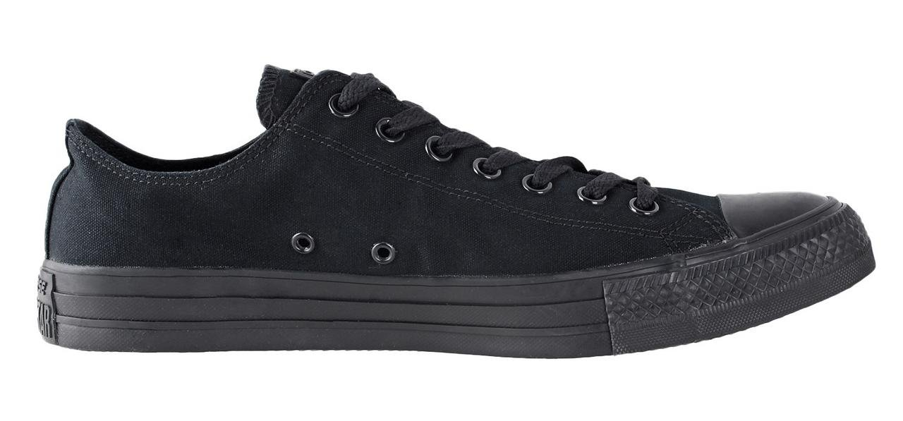 Converse Chuck Taylor All Star Season Ox, Zapatillas Unisex adulto 45 EU|Black Monoch