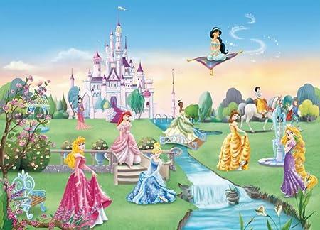 Disney Princess Castle Photo Wall Mural 368