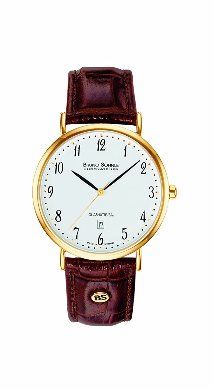 Bruno SÖhnle Herren-Armbanduhr 17-33085-921