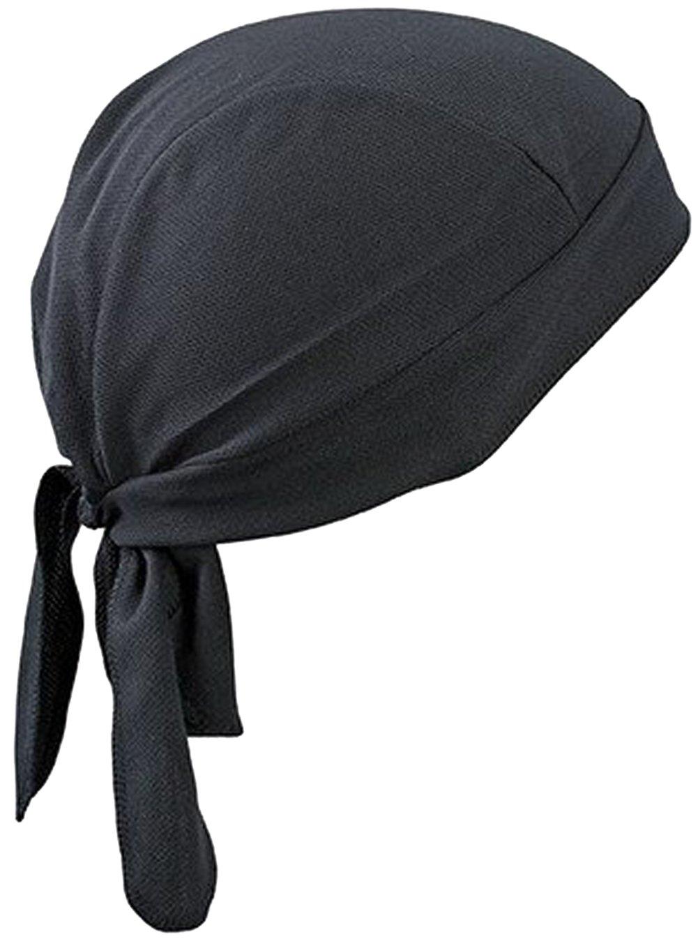 Bandana per adulti, Fascia sportiva veloce asciugatura sole con protezione UV a Bandana, berretto da ciclismo da corsa, per moto e bici, motivo: teschio, sotto il casco