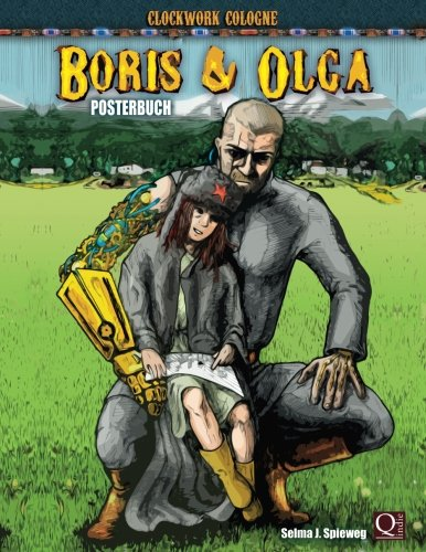 Boris und Olga - Posterbuch: Clockwork Cologne
