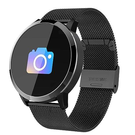 Reloj inteligente Q8 (completamente nuevo), para hombres y mujeres Reloj deportivo inteligente,