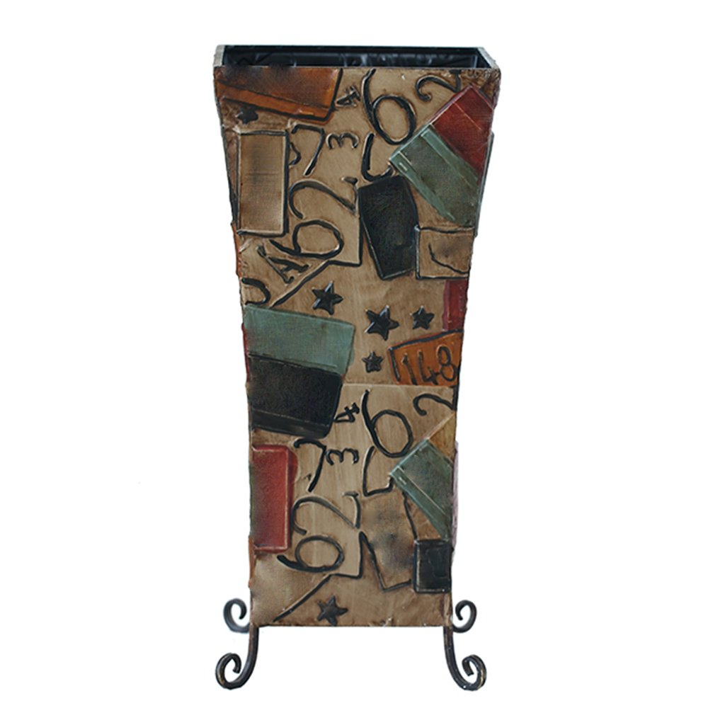 QFFL yusanjia 傘スタンド/アイアンアート/傘バケツ/傘収納棚/家庭用傘の装飾フレーム 屋外傘立て ( サイズ さいず : 52*23CM ) B07BXGKRFV52*23CM
