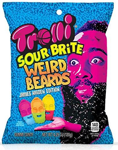 Trolli Sour Brite Weird Beards James Harden