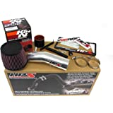 HPS 27-275P Polish Shortram Air Intake Kit Cool (Non-Carb Compliant)