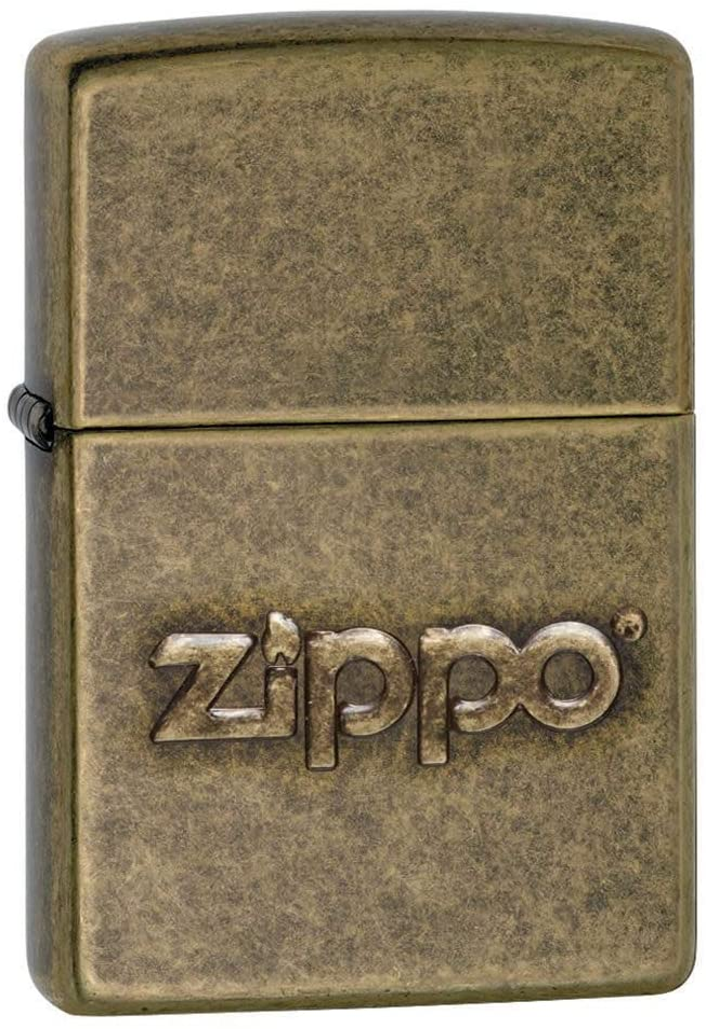 Zippo Encendedor Regular - latón Antiguo Sello: Amazon.es ...