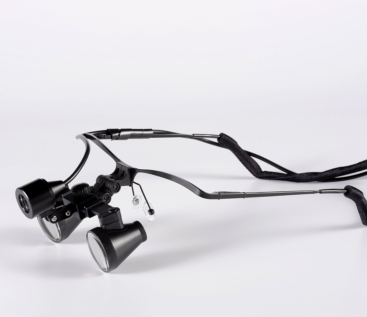 (2.5x,3x,3.5x Optional) Songzi Optics Half Frame Binocular Medical Surgical Dental Loupes & Headlight (Magnification:3.5X, working distance:R(360 - 460 mm))