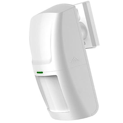 Italian Alarm Sensor de movimiento profesional 433 MHZ PIR Volumétrico Inalámbrico Alarma Casa Ahorro energía Larga