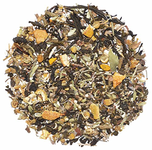 The Indian Chai - Digestive Herbal Loose Leaf Green Tea, 45 Cups, Aids Digestion And Promotes Weight Loss (Guava Leaf Herbal Infusion)