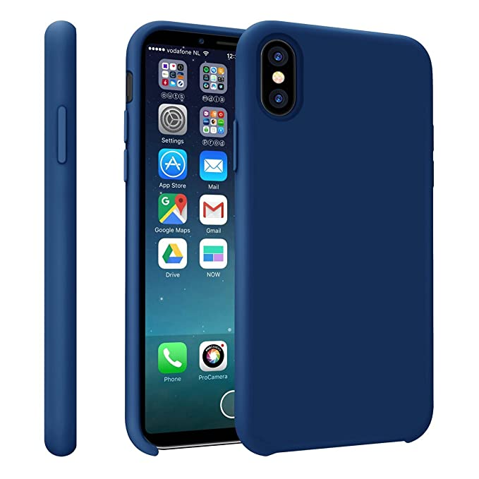 33 opinioni per YOMETOME iPhone X Cover iPhone XS Case, Apple iPhone 10 Cover Liquido Silicone