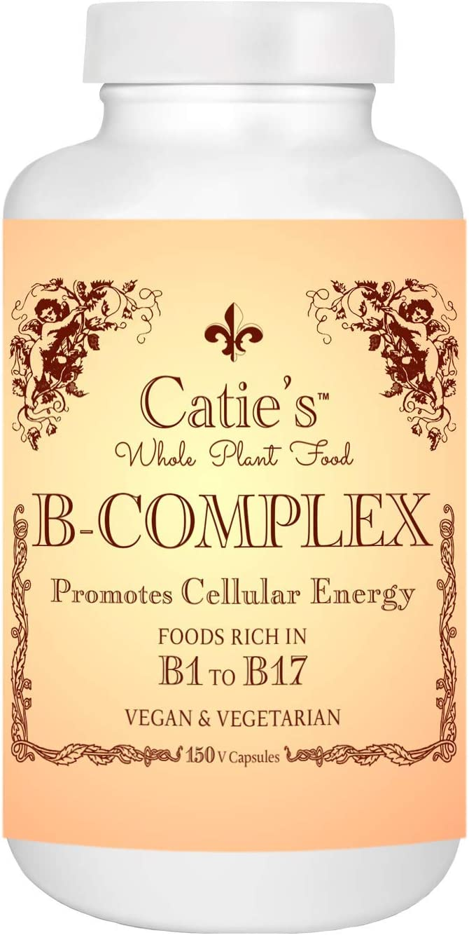 Catie s Whole Food B-Complex – 150 Capsules
